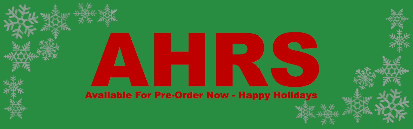 AHRS Now Available